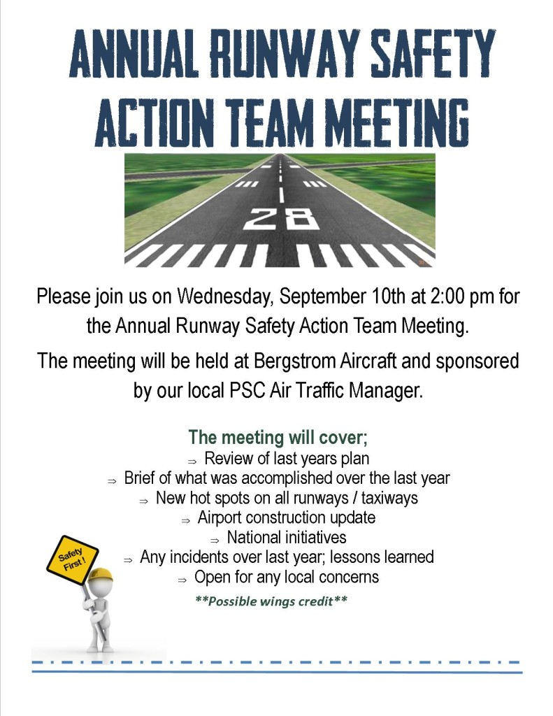 Annual Runway Safety Action Team Meeting